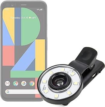 DURAGADGET Flash Selfie Compatible con Smartphone Google Pixel 4 ...