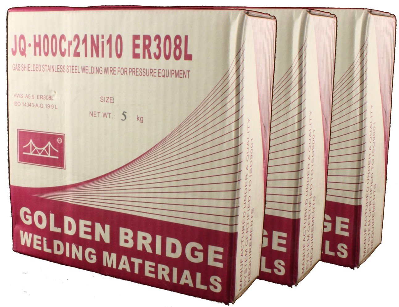 ER308L - MIG Stainless Steel Welding Wire - 11 Lb x 0.035 ...