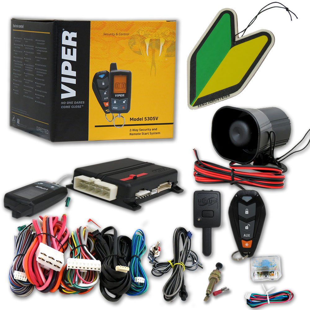 Viper Car Alarm Remote Brand New 5901 2 Way Lc3 Start Keyless Entry Responder Security System With And Squash Air Fresheners