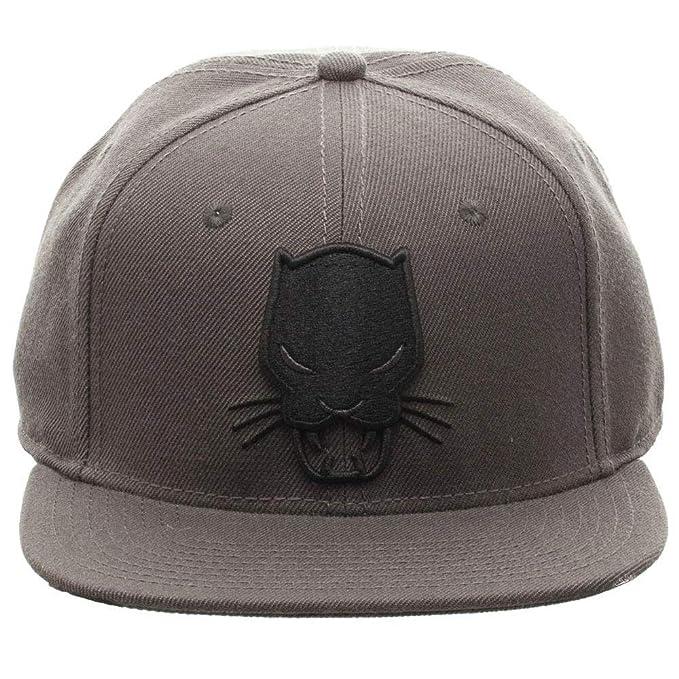 Image Unavailable. Image not available for. Color  Marvel Comics Black  Panther Grey Snapback 66d5826af90