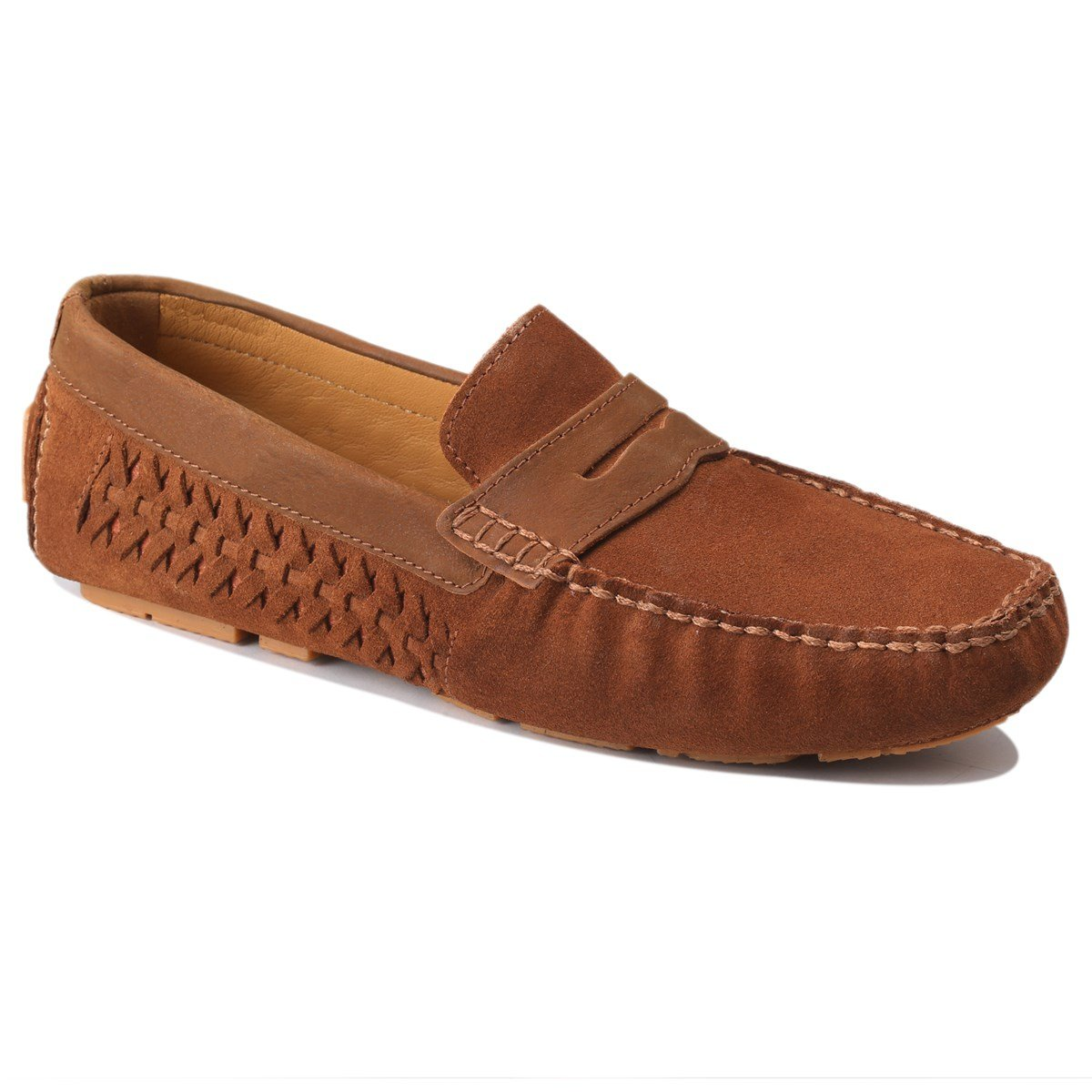 Scottwilliams Amati Premium - Mocasines para Hombre P40|Caramelo