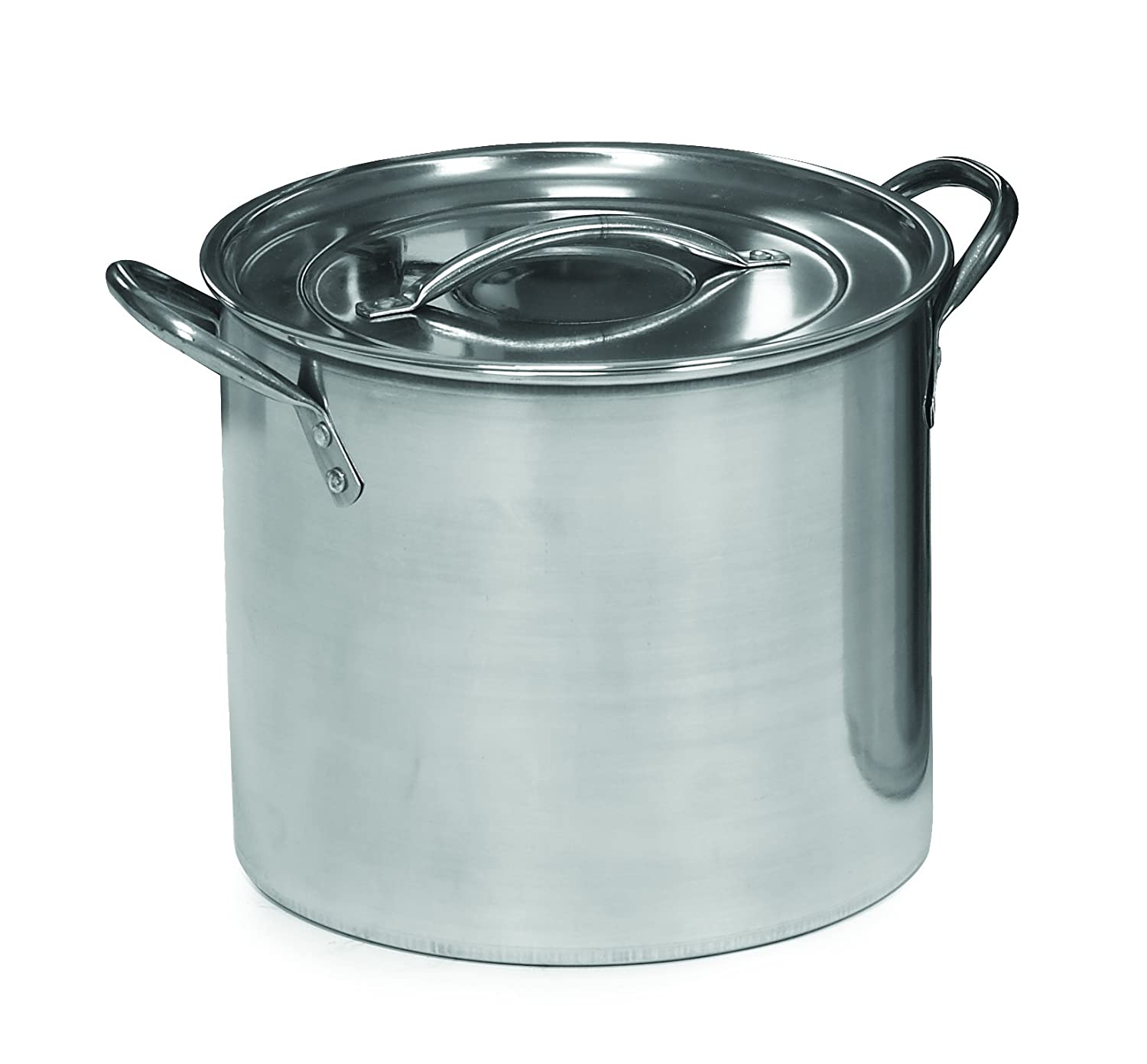 Imusa Stainless Steel Stock Pot, 20 Quart by Imusa: Amazon.es: Hogar