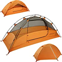 Clostnature Lightweight 2 and 3 Person Backpacking Tent - 3 Season Ultralight Waterproof Camping Tent, Large Size Easy…