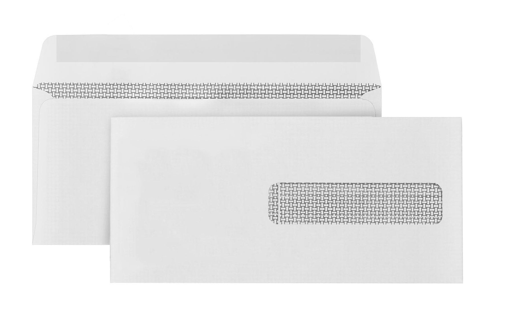 500 CMS 1500 Form Envelopes -Self Seal Design-Perfectly fits your HCFA medical billing CMS-1500 Forms -4 ½ X 9 ½'' (Pack of 500)