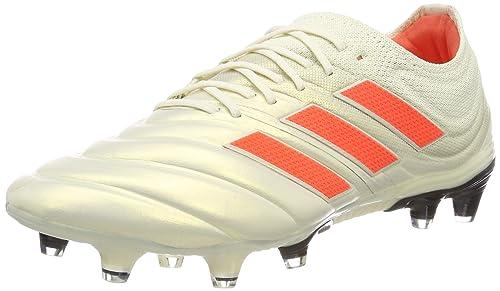 huge selection of 66db6 85876 adidas Herren COPA 19.1 FG Fußballschuhe Weiß Off White Solar Red Core  Black,
