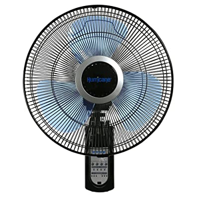 Hurricane 736565 Fan Super 8 Oscillating 16 Inch Wall