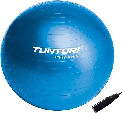 Tunturi 14Tusfu134 Balón Suizo, Unisex Adulto, Azul, 55 cm: Amazon ...