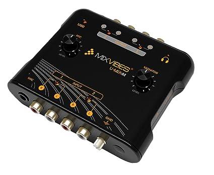 Amazon.com: Mix Vibes umix44 DJ del paquete: Musical Instruments