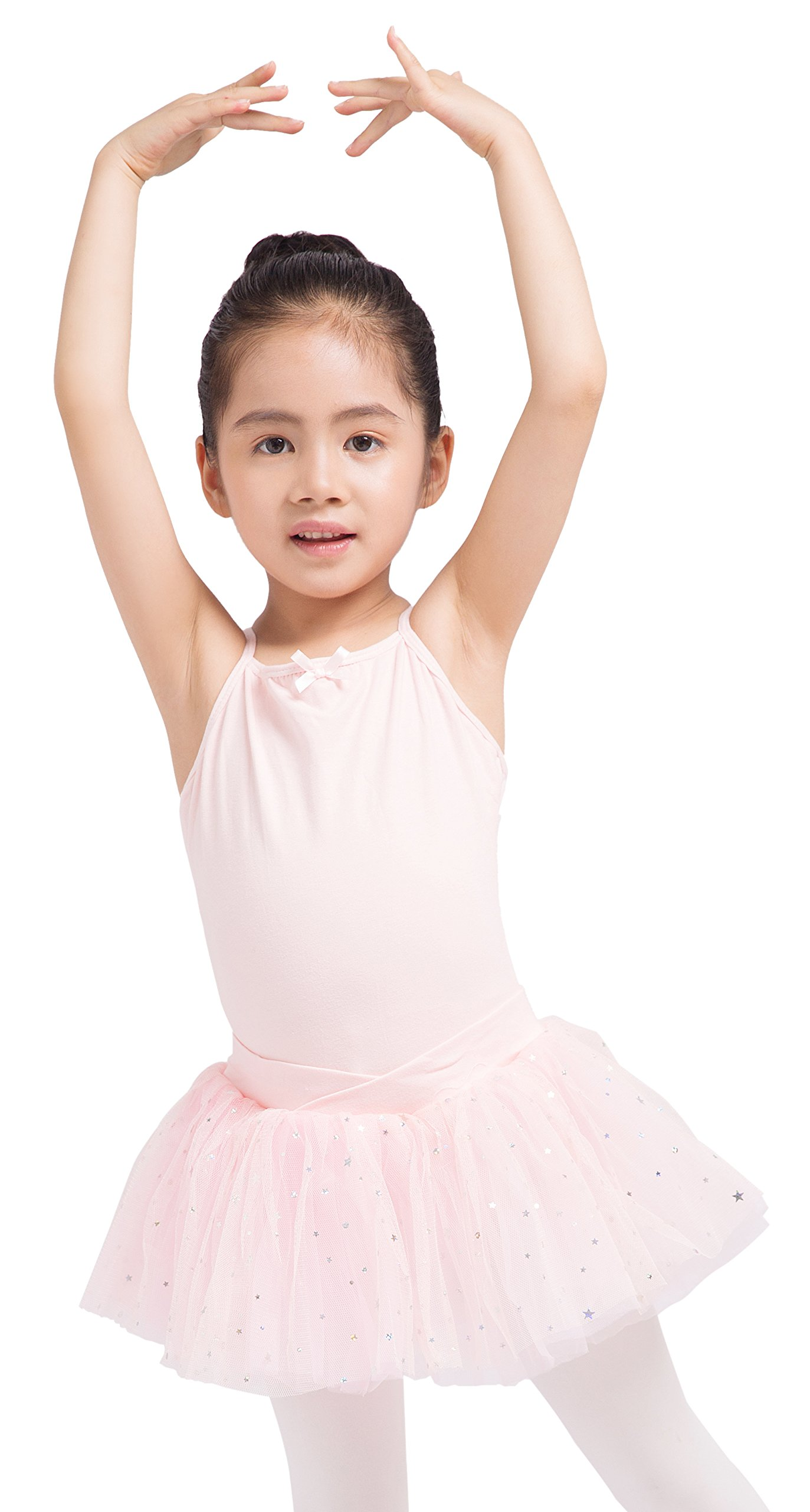 Dancina Leotard Camisole Ballet Tutu Dress Future Ballerina Dance Class Birthday Gift Outfit 3 Ballet Pink