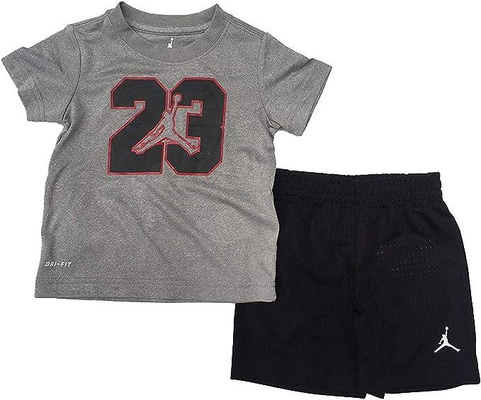 Air Jordan Set Boys Short Sleeve Shirt Shorts 3T 4T