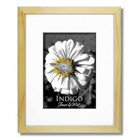 Amazon.com: One 16x20 Natural Light Wood Frame and Glass with Single ...