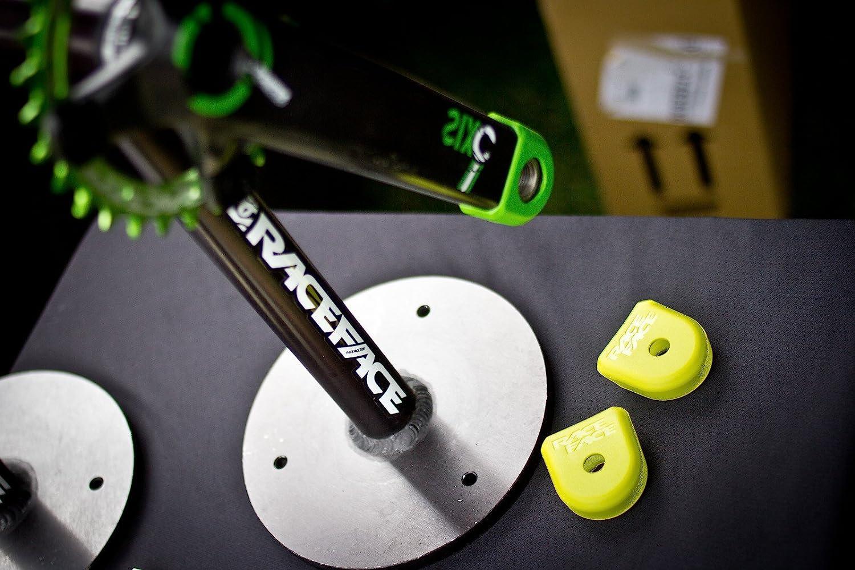 M//Carbon Kurbeln Boot RaceFace Protezione per pedivelle Grigio