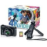 Canon PowerShot G7 X Mark III Digital Camera, Video Creator Kit with Accessories: Tripod, Memory Card, and Detachable Bluetoo