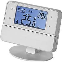EMOS Draadloze kamerthermostaat met openTherm-ondersteuning, programmeerbare klok-thermostaat voor verwarmingssystemen…