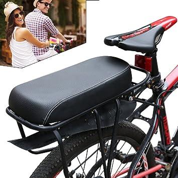 ondeni 2pcs Bike Asiento Trasero Bicicleta Niño Asiento con ...