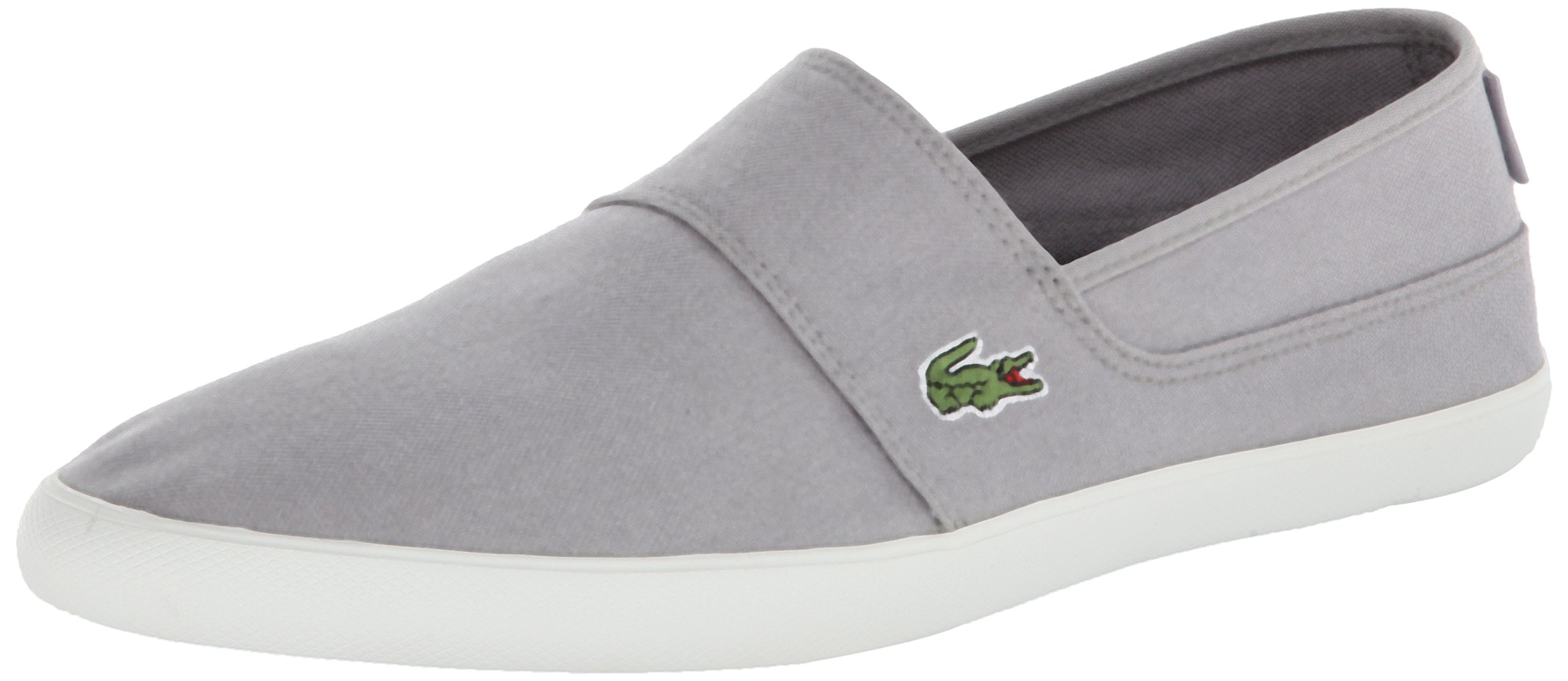 5c4920edfa352a LACOSTE MEN S MARICE CANVAS LOAFER GREY GREY 11.5 M US 887255479054 ...