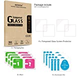 (Pack of 4) Tempered Glass Screen Protector for