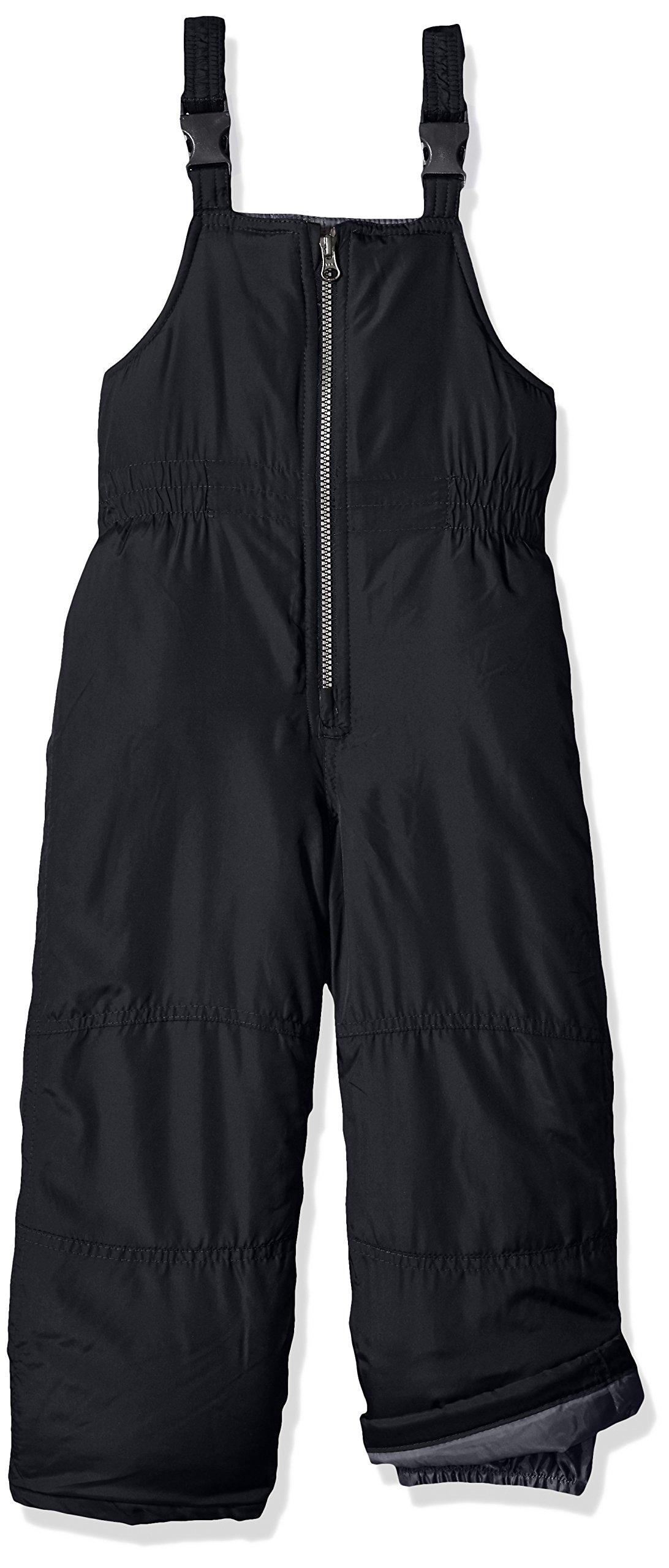 Carter's Little Boys' Snow Bib Ski Pants Snowsuit, Very Black, 7
