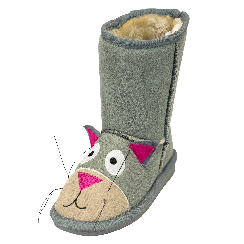 Cat Toasty Toez Kids Boots - Medium