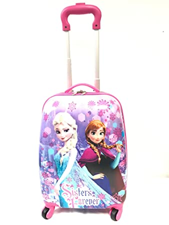 Children Kids Holiday Travel Character Suitcase Luggage Trolley ...