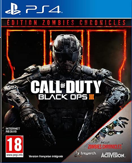 Call Of Duty Black Ops 3 Zombies Chronicles Edition Ps4 Amazon