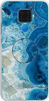 Funda Huawei Nova 5i Pro, Funda Huawei Mate 30 Lite, Funda de Silicona Ultrafina Anti-Rasguño Caja a Prueba de Golpes Estuche Blando de TPU Carcasa.(Light Blue) RF34: Amazon.es: Electrónica