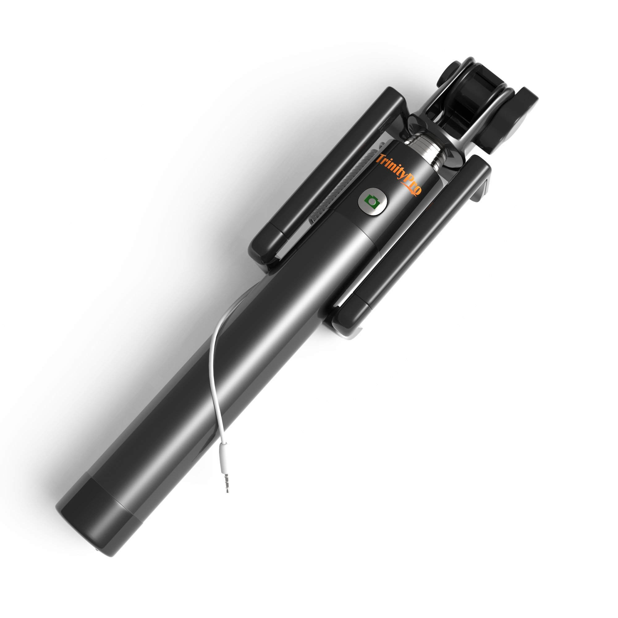 THE Best Selfie Sticks- LIFETIME Direct Connect =No Bluetooth! Adjustable For All Phones- iPhone 6/5 Samsung Galaxy S5 & More- Portable Plus Retractible- iExplore GoPro Lightweight Hi-Grade Aluminum