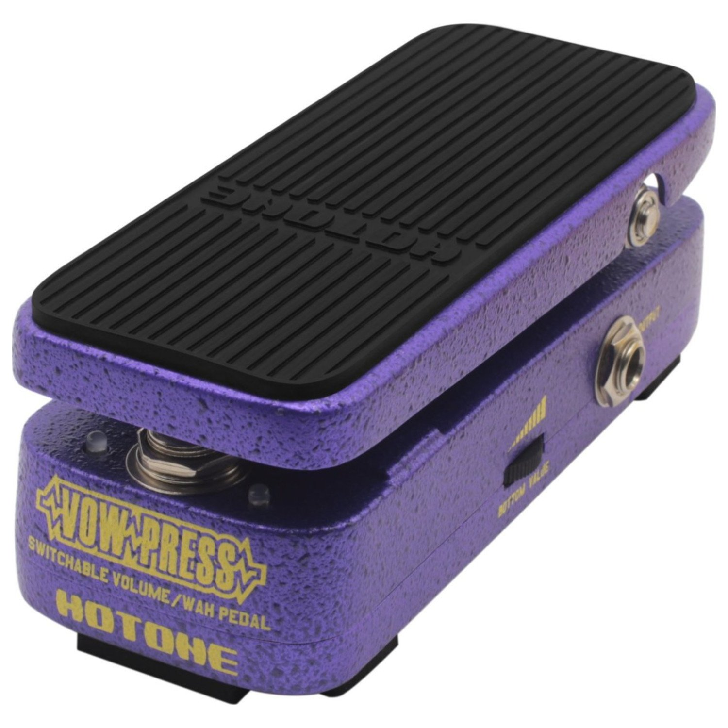 Hotone Vow Press Combo Wah/Volume Guitar Effects Pedal by Hotone