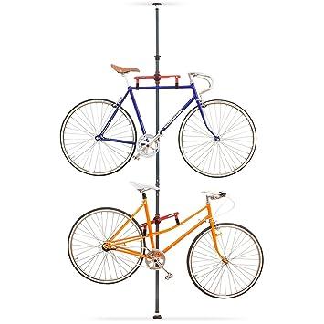 Fahrradhalterung Wand relaxdays teleskop fahrradhalterung für 2 räder fahrrad