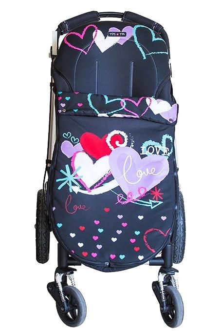 Tris&Ton Sacon convert 2 en 1 silla de paseo para bebe modelo Love, saco funda