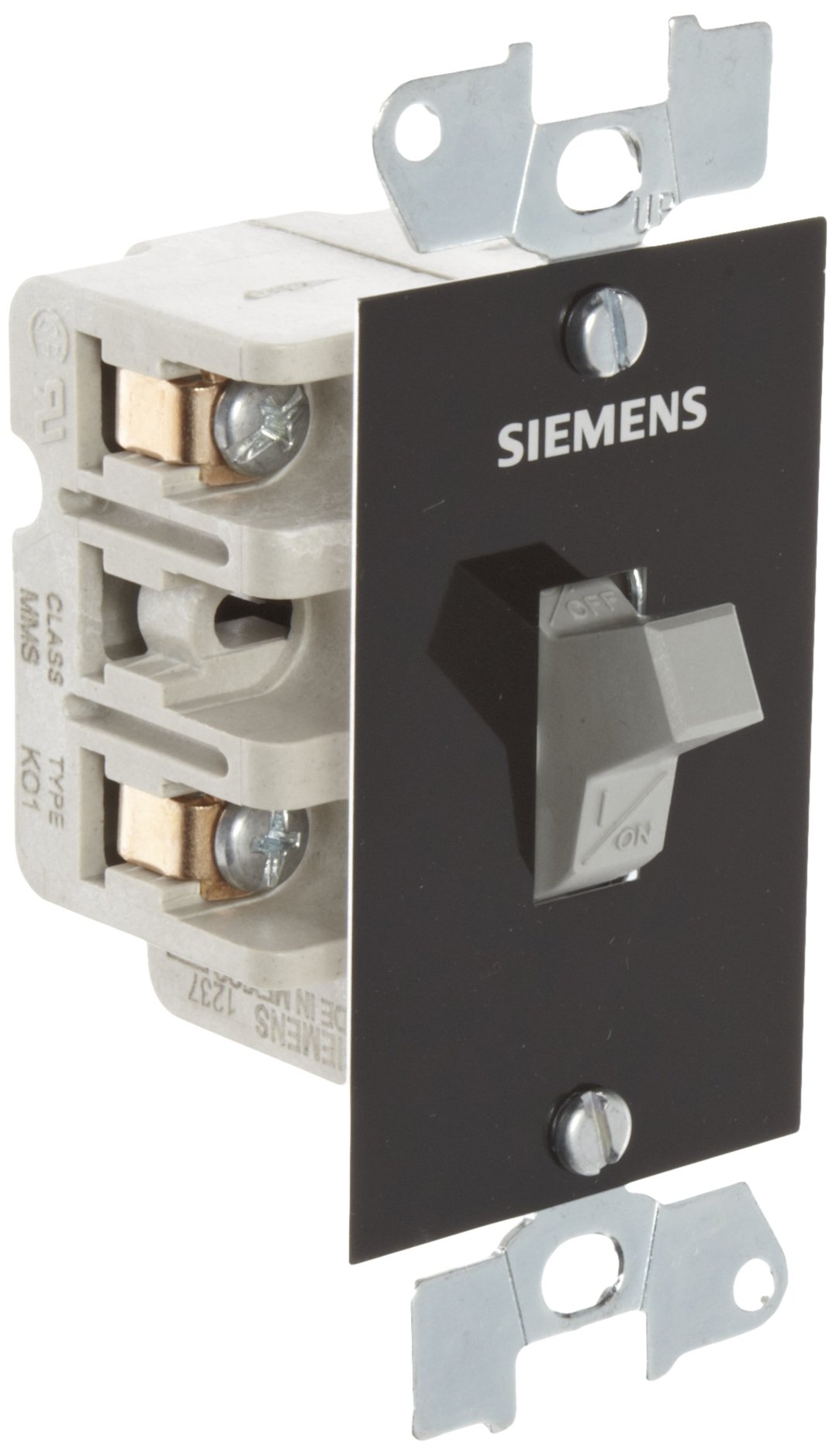 Siemens MMSK01 Fractional HP Switch, Single and 3 Phase, Open Type, Toggle Operator Type, Standard Switch Feature