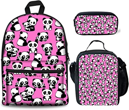 Cute Skull Flower Shoulder Backpack Messenger Crossbody Laptop Bag Student Bookbags for Kid Girls Boys
