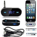 REALMAX® Reproductor de música universal, compatible con todas las marcas de móviles, reproductores de mp3, tablets y todos los modelos de coche