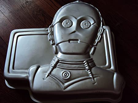 Wilton C-3PO Star Wars Cake Pan 502-2197, 1983