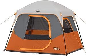 CORE 4 Person / 6 Person Straight Wall Cabin Tents