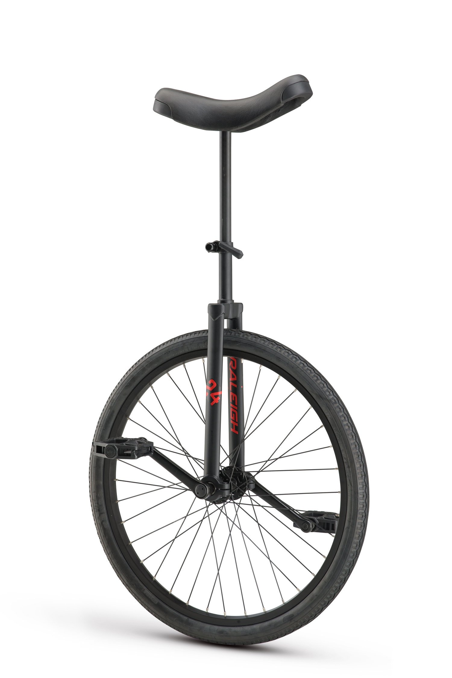 RALEIGH Unistar 24, 24inch Wheel Unicycle, Black by RALEIGH