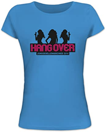 Shirtstreet24, JGA 28 - Girls Hangover, Junggesellenabschied Lady  Damen   Frauen Fun T-Shirt  Amazon.de  Bekleidung 345f110295