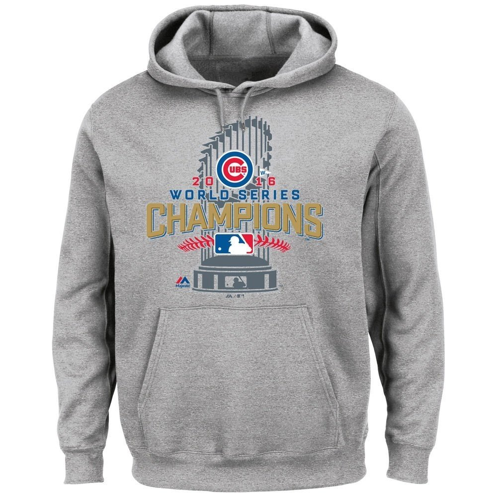 new arrival f953a 793f9 Majestic Athletic Chicago Cubs 2016 World Series Champs Locker Room  Championship Hoodie