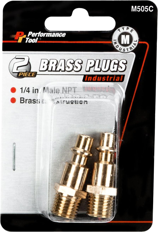 Performance Tool M505C Brass Plug