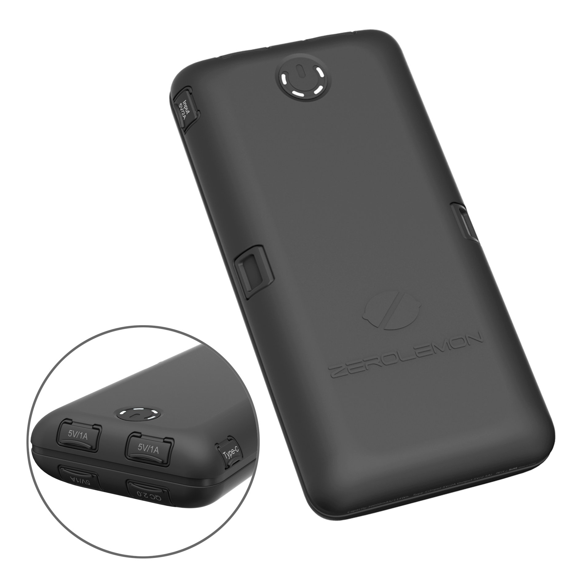 info for e74d8 350fe ZeroLemon ToughJuice V2.0 30000mAh External Battery - Unboxed