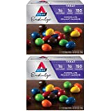 Atkins Endulge Treat Chocolate Peanut Candies   5 Bags of 1.2 oz Each Per Pack   (2-Packs)
