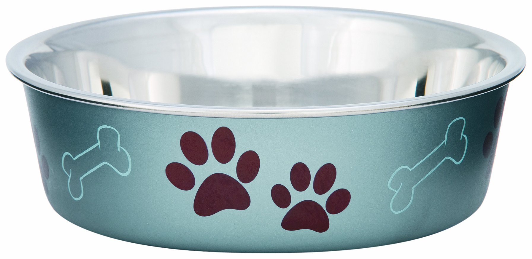 Loving Pets Metallic Bella Bowl, Extra Large, Blueberry
