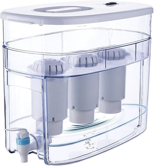 Carga PH Agua Alcalina Ionizador máquina – Encimera filtro de agua ...