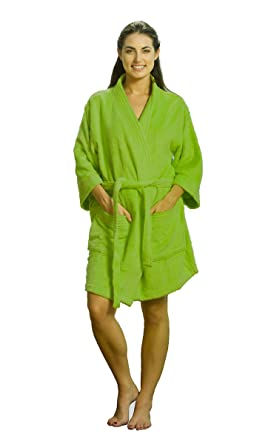 75ba0e9630 Cotton Kimono Adult Robes Terry Kimono Cover up