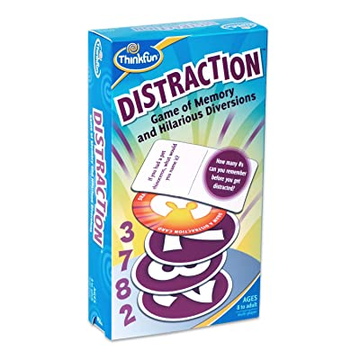Thinkfun Distraction Card Game: Toys & Games