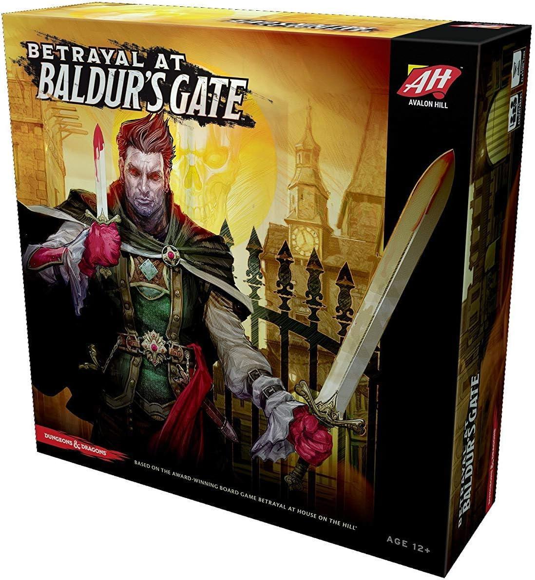 Avalon Hill Board Game Betrayal at Baldurs Gate english Wizards ...