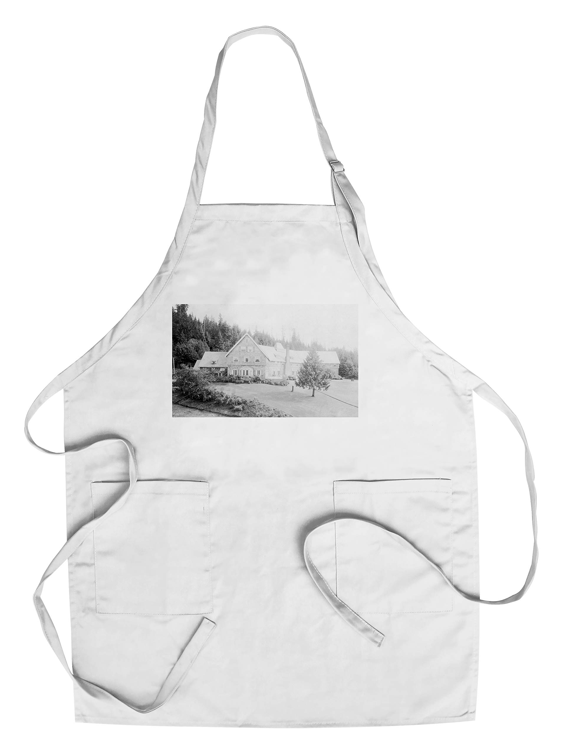 Hotel Quinault from the Annex Photograph (Cotton/Polyester Chef's Apron)