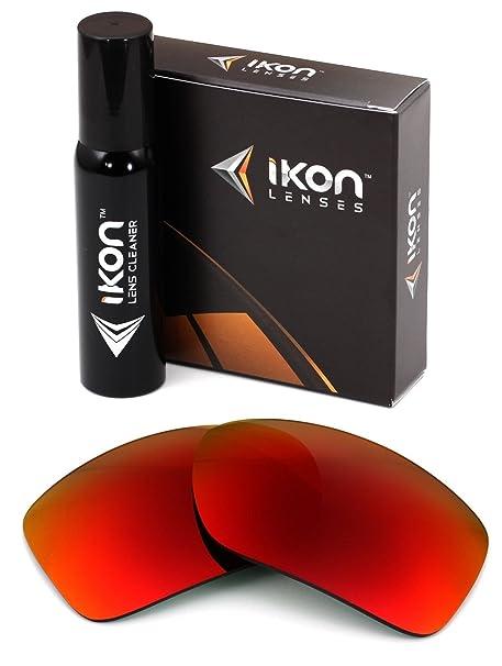 a8fd224edb6 Polarized Ikon Iridium Replacement Lenses for Oakley Big Taco Sunglasses -  + Red Mirror