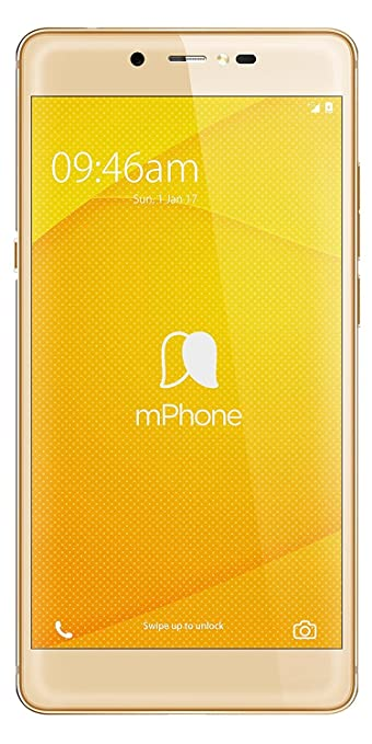 M phone 7 Plus (Gold) Smartphones at amazon