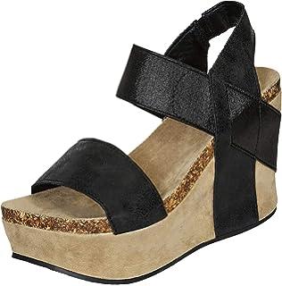 2ca0655cea72 Pierre Dumas Hester-1 Women s Platform Wedge Sandals